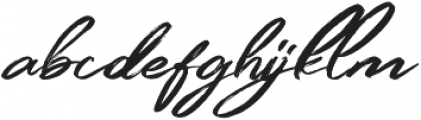 Simpletune otf (400) Font LOWERCASE