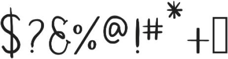 Simplicity Regular ttf (400) Font OTHER CHARS