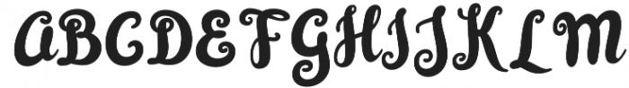 Simplisicky Fill Regular otf (400) Font UPPERCASE