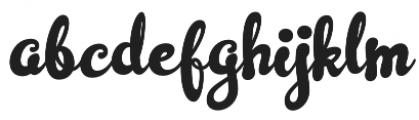 Simplisicky Fill Regular otf (400) Font LOWERCASE