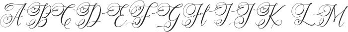 Simply Harmony otf (400) Font UPPERCASE