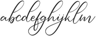 Simply Harmony otf (400) Font LOWERCASE