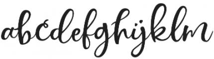 Simply Sweet Script Upright otf (400) Font LOWERCASE