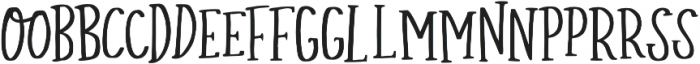 Simply Sweet Serif Ligatures otf (400) Font LOWERCASE