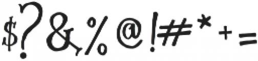 Simsalabim Typeface otf (400) Font OTHER CHARS