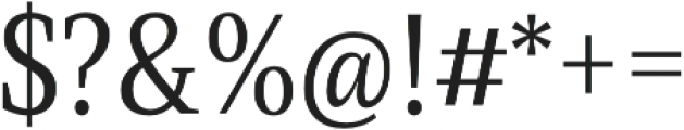Singel otf (400) Font OTHER CHARS