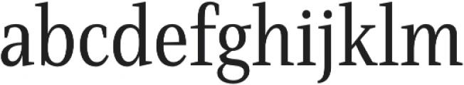 Singel otf (400) Font LOWERCASE