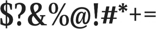 Singel otf (700) Font OTHER CHARS