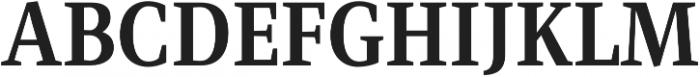 Singel otf (700) Font UPPERCASE