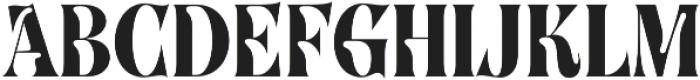 SingleMalt otf (400) Font UPPERCASE
