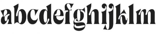 SingleMalt otf (400) Font LOWERCASE