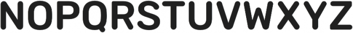 Sinuous Medium otf (500) Font UPPERCASE