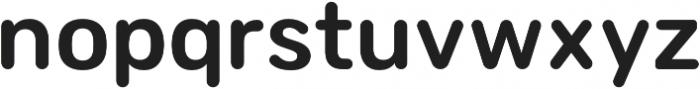 Sinuous Medium otf (500) Font LOWERCASE