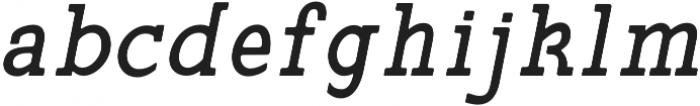 Siren CPC Bold otf (700) Font LOWERCASE
