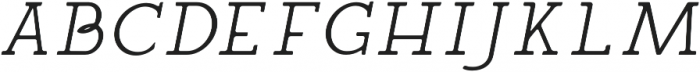 Siren CPC otf (400) Font UPPERCASE