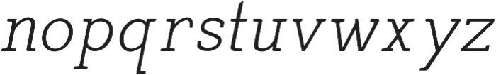 Siren CPC otf (400) Font LOWERCASE