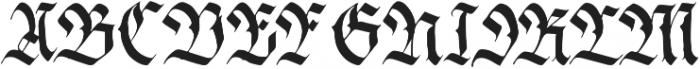Siren ttf (400) Font UPPERCASE