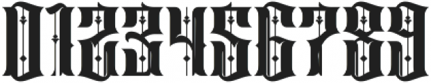 Sirunian Regular ttf (400) Font OTHER CHARS