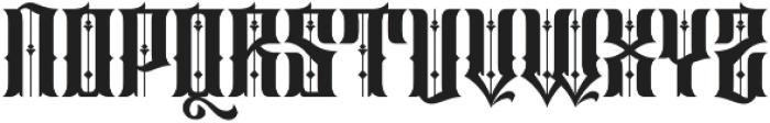 Sirunian Regular ttf (400) Font UPPERCASE