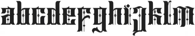 Sirunian Regular ttf (400) Font LOWERCASE