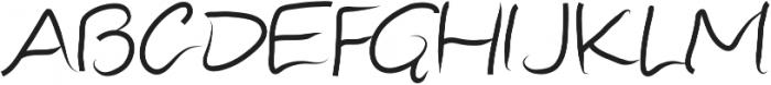 Sister ttf (400) Font UPPERCASE