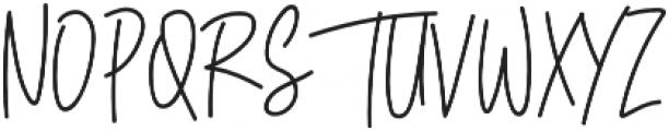 Sisterfields otf (400) Font UPPERCASE