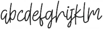 Sisterfields otf (400) Font LOWERCASE