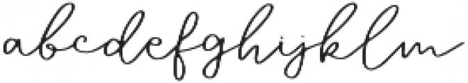 Sixtape otf (400) Font LOWERCASE