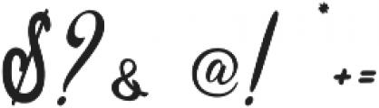 Sixth Babylon otf (400) Font OTHER CHARS