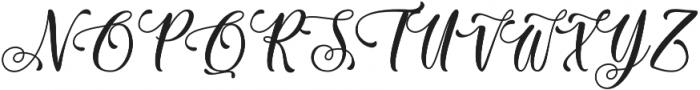 Sixth Babylon otf (400) Font UPPERCASE