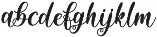 Sixth Babylon otf (400) Font LOWERCASE