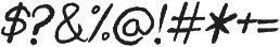 sigismund no7 otf (400) Font OTHER CHARS