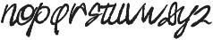 sigismund no7 otf (400) Font LOWERCASE