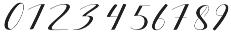 silicia script Regular otf (400) Font OTHER CHARS