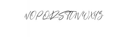 Sign Style.otf Font UPPERCASE