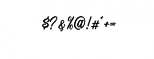 Signation.otf Font OTHER CHARS