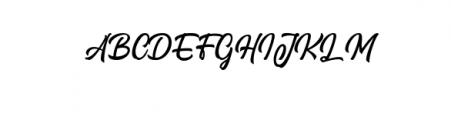 Signation.otf Font UPPERCASE