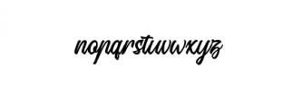 Signation.otf Font LOWERCASE