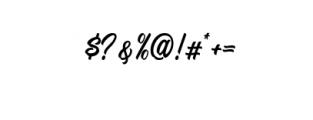 Signation.ttf Font OTHER CHARS