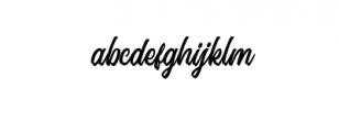 Signation.ttf Font LOWERCASE