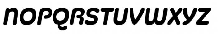 Silicone Bold Italic Font UPPERCASE