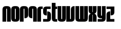 Sinclair Biform Font LOWERCASE