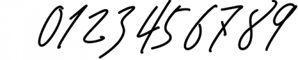 Signature TypeFace 1 Font OTHER CHARS