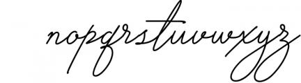 Signature TypeFace 1 Font LOWERCASE