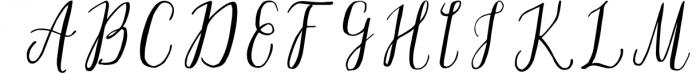 Silex. Modern calligraphy 1 Font UPPERCASE