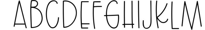 Silky Smooth Font Bundle 2 Font UPPERCASE