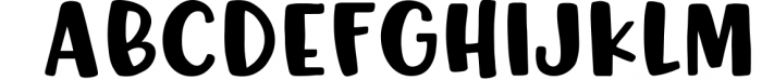 Silky Smooth Font Bundle 3 Font UPPERCASE
