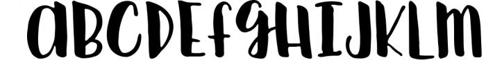 Silky Smooth Font Bundle 5 Font UPPERCASE