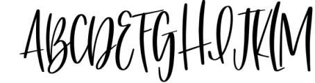 Silky Smooth Font Bundle 6 Font UPPERCASE