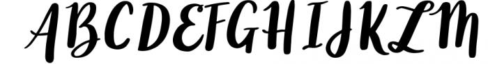Silky Smooth Font Bundle 8 Font UPPERCASE